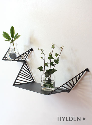 Two shelves from by dyb