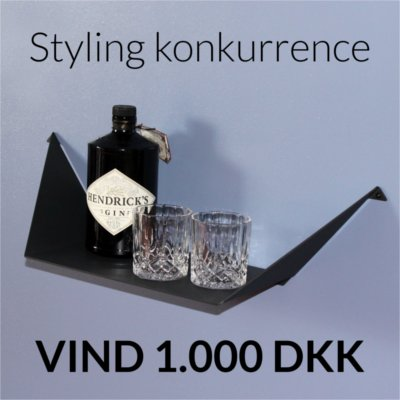 Styling konkurrence med BY DYB - Hylden Clean Large